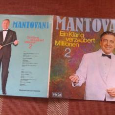 Mantovani Ein Klang verzaubert 2 disc vinyl lp Muzica Clasica decca classics DECCA vest Germany, VINIL