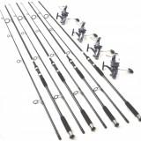 Set 4 lansete SPEED MASTER CARP 3, 6m, 4 lbs, 2 tronsoane, carbon 100% cu XZ9000 - Lanseta