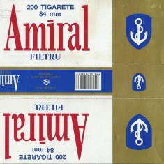 Ambalaj cartus de tigari Amiral - Pachet tigari