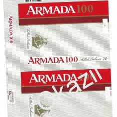 Pachet tigari - Ambalaj pachet necartonat tigari Armada 100