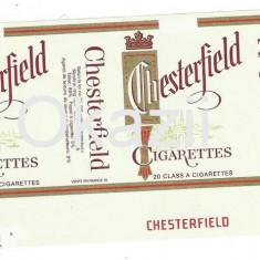 Ambalaj pachet necartonat tigari Chesterfield - Pachet tigari