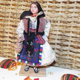 Papusa costum popular Bihor - Papusa de colectie