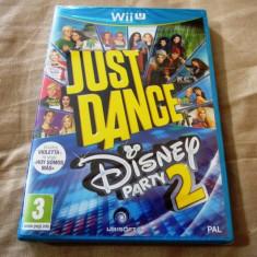 Just Dance Disney Party 2, Wiiu, original si sigilat, alte sute de jocuri! - Jocuri WII U, Simulatoare, 3+, Multiplayer