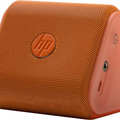 Boxe Telefon - HP Miniboxa wireless HP, conectare Bluetooth, durata baterie pana la 8 ore, greutate 0.3kg, dimensiuni 80 x 78 x 72 mm, culoare portocalie