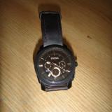 Ceas barbatesc Fossil, Casual, Quartz, Piele, Cronograf, Analog - Ceas Fossil FS4656 (LM3)