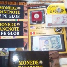 Colectia Monede si Bancnote de pe Glob, Europa