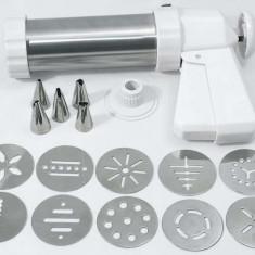 Pistol pentru biscuiti cu diferite sabloane, L=25 cm