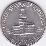 Moneda Statele Unite ale Americii 1/2 Dolar 1976D - KM#205 XF (bicentenar), America de Nord, An: 1976
