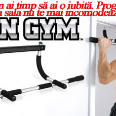 Iron Gym | Bara tractiuni