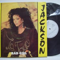 Disc vinil LA TOYA JACKSON - Bad girl (ST - ELE 04131) - Muzica Pop Altele