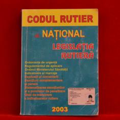 Carte - Codul rutier Legislatia rutiera 2003 #202 - Certificare