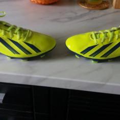 Ghete fotbal Adidas F10 Messi, Marime: 42 2/3, Culoare: Verde