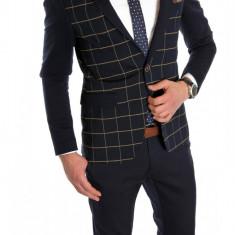 Sacou tip Zara Man CAROURI - sacou barbati - sacou casual elegant- cod 6070, 52, 54, Din imagine