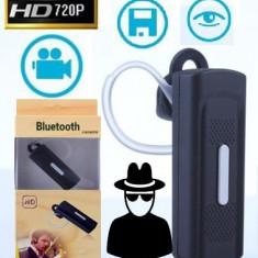 Camera ascunsa spion in casca bluetooth - Camera spion