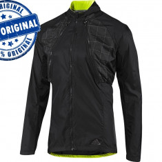 Jacheta barbat Adidas Supernova Delta 2in1 - originala - bluza alergare -running - Bluza barbati Adidas, Marime: S, Culoare: Negru, Cu fermoar, Poliester