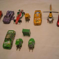 Disney Pixar Cars - Hasbro - 10 figurine masinute de metal - lot 1 - Masinuta de jucarie