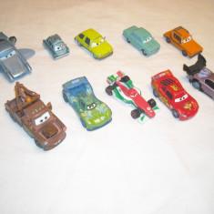 Disney Pixar Cars - Hasbro - 10 figurine masinute de metal - lot 9 - Masinuta de jucarie