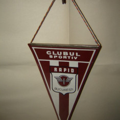 Fanion fotbal - Fanion Clubul Sportiv Rapid Bucuresti