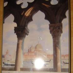Cutie metalica Venezia - Cutie Reclama