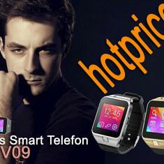 Noul DZ09 Ceas Telefon GV09 SMART-WATCH SIM FOTO GSM Destept Smartwatch Android