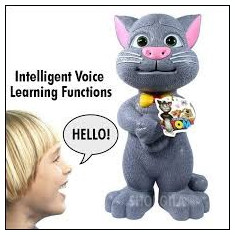 Jucarii plus Lamaze - Jucarie Talking Tom Cat - Tom cel vorbaret