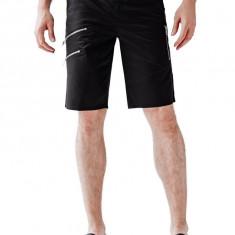 Pantaloni scurti Guess Jeans ZIP BIKER masura 32 33 34 35 - Bermude barbati Guess, Culoare: Negru