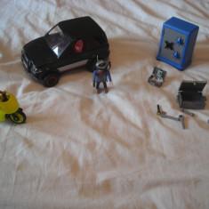 Playmobil City 4509 - Masina spargatorului de seifuri - Masinuta de jucarie Playmobil, Plastic