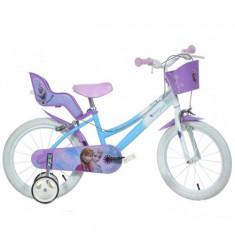 Bicicleta Frozen 16 Inch - Bicicleta copii Dino Bikes