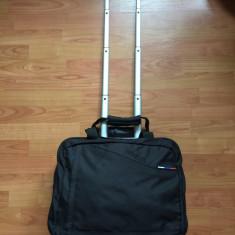 Troller - Vand geanta voiaj/avion/troler/laptop SAMSONITE