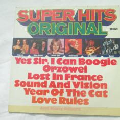Various – Super Hits Original _ vinyl(Lp, compilatie) Germania - Muzica Pop rca records, VINIL