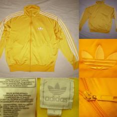 Bluza Adidas Originals (L) galben barbati casual sport retro vintage - Bluza barbati