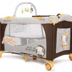 Pat copii - Patut Pliant Bebe MONI Happy Baby Safari Park