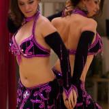 Costum profesional de belly dance. Costum dans oriental