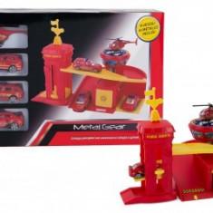 Vehicul - Garaj cu masinute de pompieri