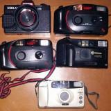Lot 5 aparate foto vechi pe film !