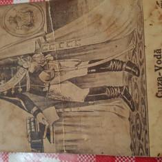 Carte Postala, Circulata, Printata - Cuza Vodă-Cartă Postală