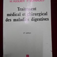 Michel Huguier - Traitement medical et chirurgical des maladies digestives - 340515 - Carte Medicina alternativa