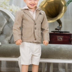 "Trusou botez - Costum botez ""Nick"" (Imbracaminte pentru varsta: 12 luni - 80 cm)"