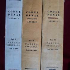 Carte veche - Constantin Ratescu - Codul penal, vol. 1, 2, 3 - 352855