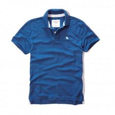 100% AUTENTIC - Tricou Polo ABERCROMBIE FITCH - Tricou Barbati Bumbac, Marime: XL, Culoare: Din imagine, Maneca scurta