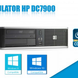 CALCULATOR HP DC7900 CORE2DUO E7400 2GB RAM HDD 80 GB DVD GARANTIE 6 LUNI! - Sisteme desktop fara monitor HP, Intel Core 2 Duo, 2501-3000Mhz, 40-99 GB, LGA775