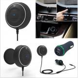 NFC Car Kit 3.5mm Bluetooth 4.0 Audio Receiver Hands-free Aux 3.1A - Handsfree GSM