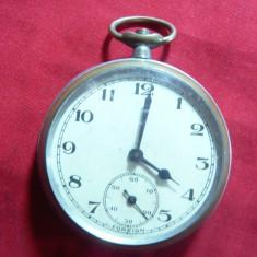 Ceas buzunar Anglia- Foreign, d=4, 3 cm( fara rama), lipsa remontor - Ceas de buzunar vechi