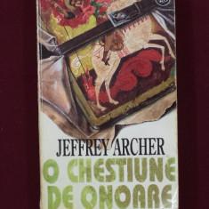 Jeffrey Archer - O chestiune de onoare - 526636 - Roman