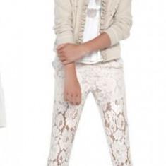 Pantaloni Mayoral dantela 6532 (Imbracaminte pentru varsta: 10 ani - 140 cm, Model: floral)