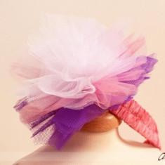 Bentita Party Lilac Pompom (Circumferinta cap: 52 cm)