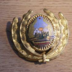 Colectii Militare - BDEU - EMBLEMA MILITARA - COMUNISTA - PIESA DE COLECTIE