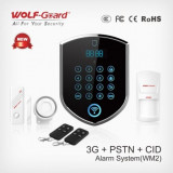 Alarma wireless 3G GSM si PSTN Wolf-Guard YL-007WM2 - Sisteme de alarma