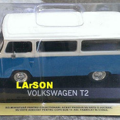 Macheta auto, 1:43 - Macheta metal DeAgostini Volkswagen VW T2 - NOUA+revista Masini de Legenda 75
