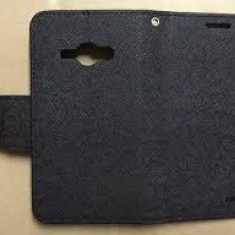 Husa Telefon - Husa ZTE Blade L3 Flip Fancy Neagra / Black